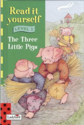 9780721474151: Read It Yourself Level 2 Three Little Pigs (bka) (Read it yourself book & tape collection)