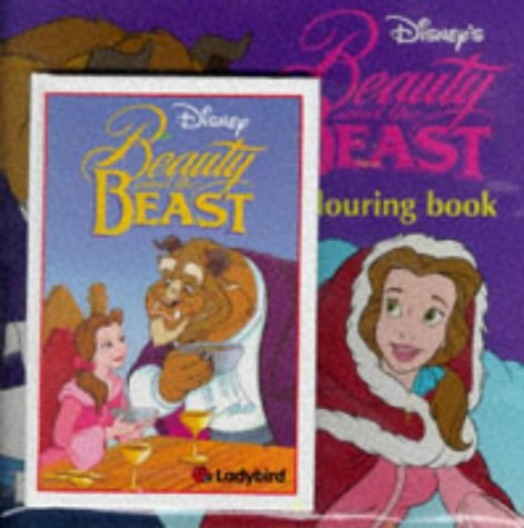 9780721477251: Beauty and the Beast: Disney Book of the Film AND Colouring Book