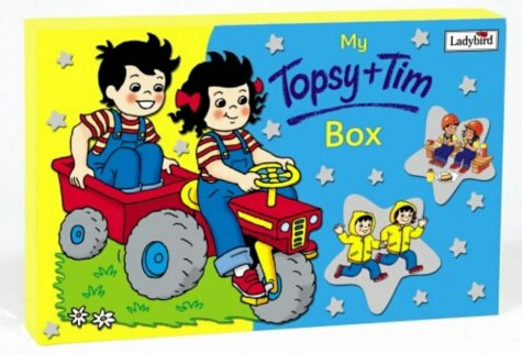 """9780721482248: My Topsy and Tim Book Box: """"Busy Builders"""", """"Old Shoes, New Shoes"""", """"Little Lost Rabbit"""", """"Special Visit"""" (Topsy & Tim)"""