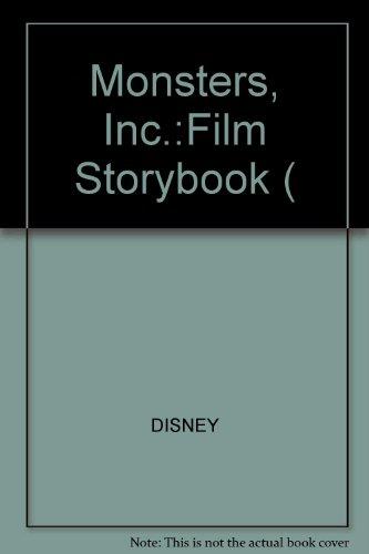 9780721482361: Monsters, Inc.:Film Storybook (