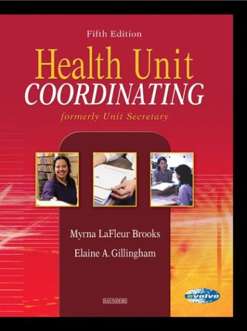9780721600994: Health Unit Coordinating, 5e