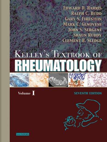 Kelley's Textbook of Rheumatology (2 Vol. Set): Harris, Edward; Budd,