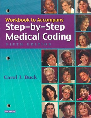 9780721601700: Workbook to Accompany Step-by-Step Medical Coding