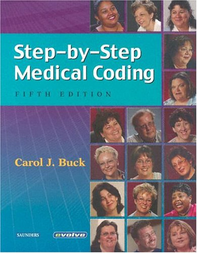 9780721602349: Step-By-Step Medical Coding-Text and Workbook package