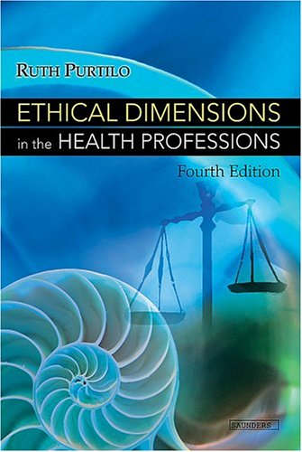 9780721602431: Ethical Dimensions In The Health Professions