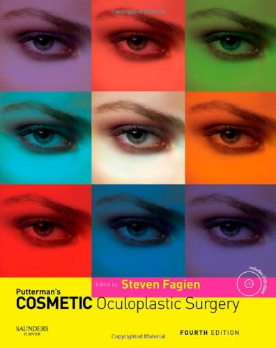 9780721602547: Putterman's Cosmetic Oculoplastic Surgery with DVD, 4e