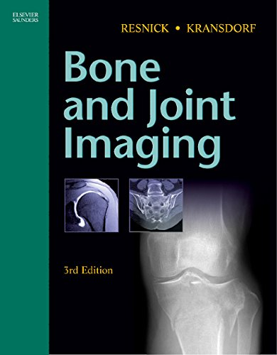 Bone and Joint Imaging, 3e (0721602703) by Donald Resnick; Mark Kransdorf