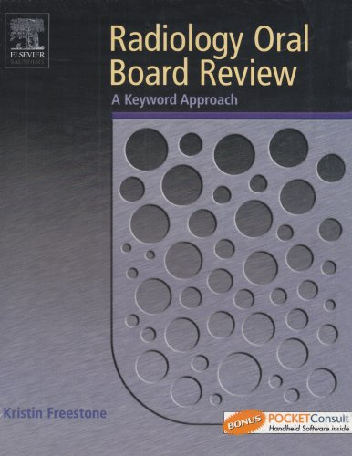 9780721602912: Radiology Oral Board Review: A Keyword Approach, 1e