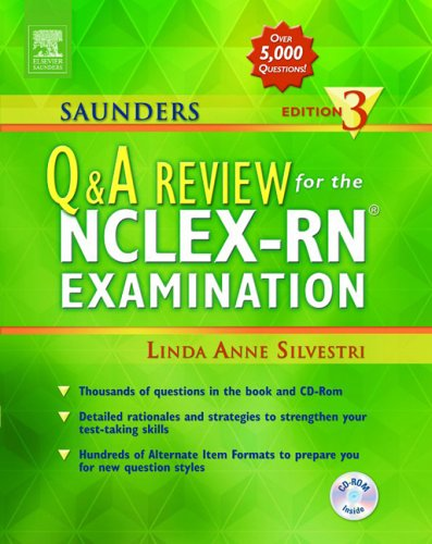 9780721603520: Saunders Q & A Review for the NCLEX-RN Examination Edition 3