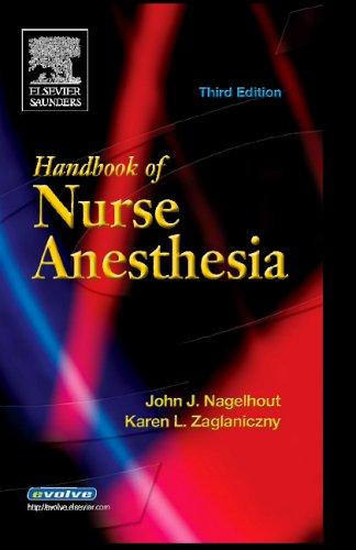9780721603629: Handbook of Nurse Anesthesia, 3e