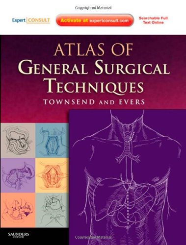 9780721603988: Atlas of General Surgical Techniques: Expert Consult – Online and Print, 1e