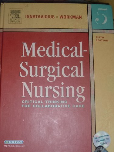 9780721604466: Medical-Surgical Nursing: Critical Thinking for Collabarative Care - 5th Edition