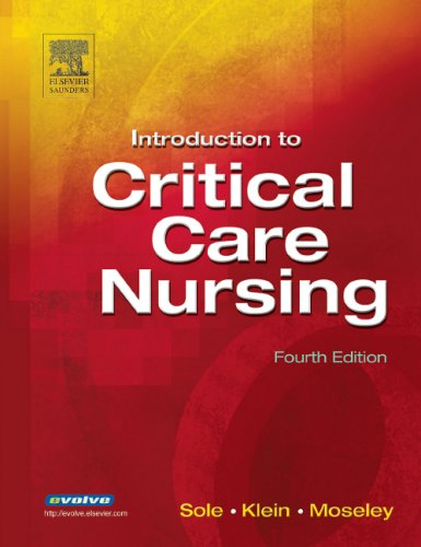 9780721605203: Introduction to Critical Care Nursing