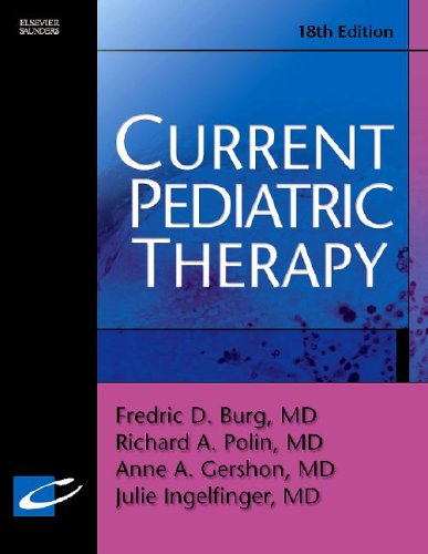 9780721605494: Current Pediatric Therapy (Current Therapy)