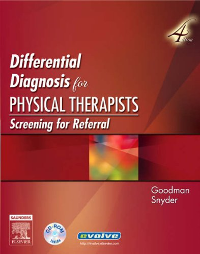 9780721606194: Differential Diagnosis for Physical Therapists: Screening for Referral, 4e (Differential Diagnosis In Physical Therapy)
