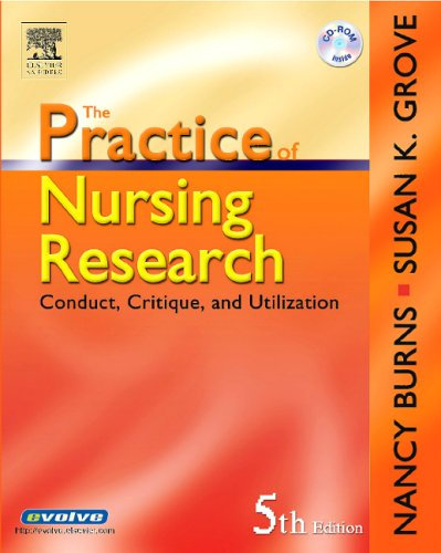 9780721606262: The Practice of Nursing Research: Conduct, Critique, & Utilization