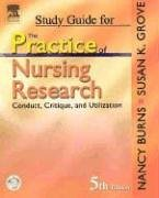 9780721606279: Study Guide for The Practice of Nursing Research: Conduct, Critique, & Utilization