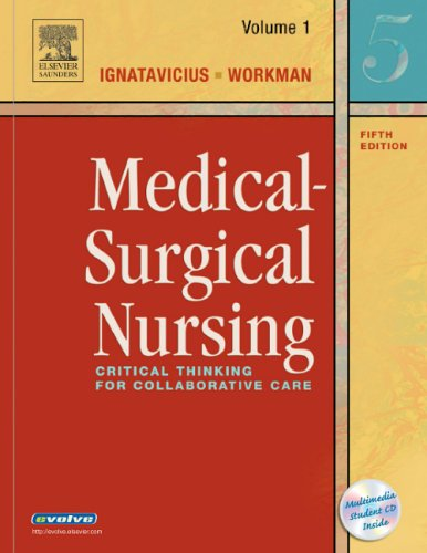 9780721606712: Medical-Surgical Nursing: Critical Thinking for Collaborative Care