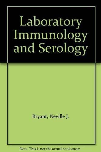 9780721610597: Laboratory Immunology and Serology