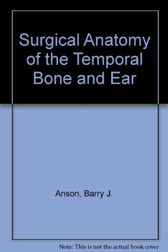 9780721612911 Surgical Anatomy Of The Temporal Bone And Ear