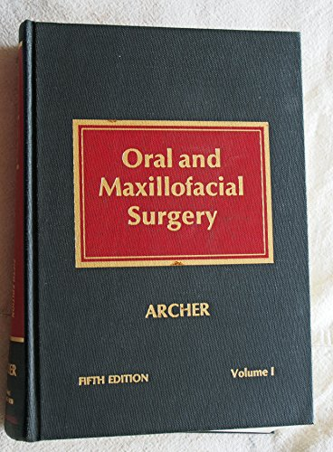 9780721613628: Oral and Maxillofacial Surgery: Volume 1