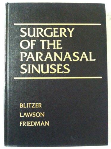 9780721614113: Surgery of the Paranasal Sinuses