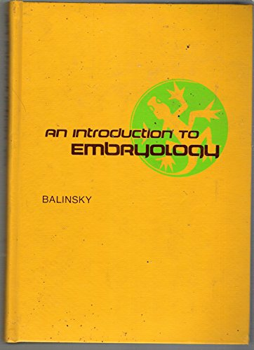 Introduction to Embryology: B.I. Balinsky