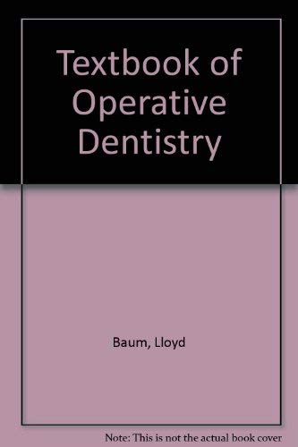 9780721616018: Textbook of Operative Dentistry