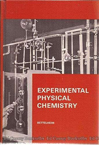 9780721616902: Experimental Physical Chemistry