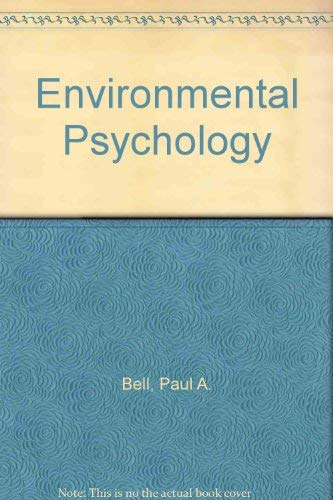 9780721617060: Environmental Psychology