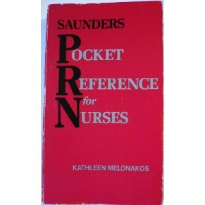 9780721618265: Saunders Pocket Reference for Nurses
