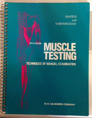 9780721618548: Muscle Testing: Techniques of Manual Examination