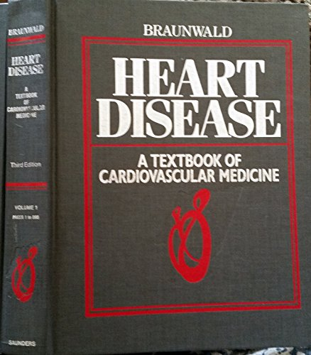 9780721619545: Heart Disease: v. 1: A Textbook of Cardiovascular Medicine