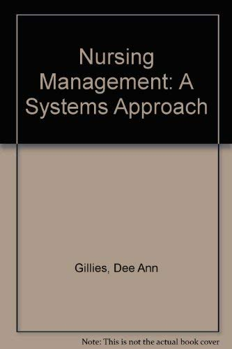 9780721619590: Nursing Management: A Systems Approach