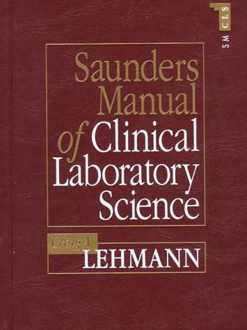 9780721621852: Saunders Manual of Clinical Laboratory Science, 1e