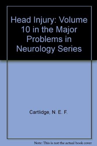 9780721624433: Head Injury: Volume 10 in the Major Problems in Neurology Series
