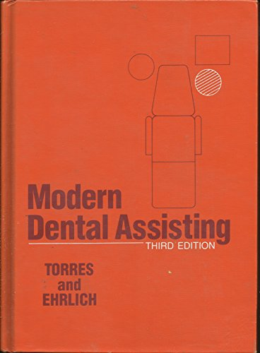 9780721624884: Modern Dental Assisting