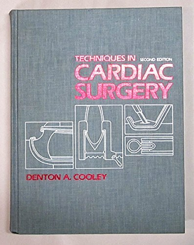 9780721627014: Techniques in Cardiac Surgery