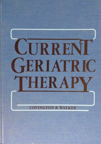 9780721627434: Current Geriatric Therapy