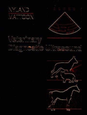 9780721627458: Veterinary Diagnostic Ultrasound
