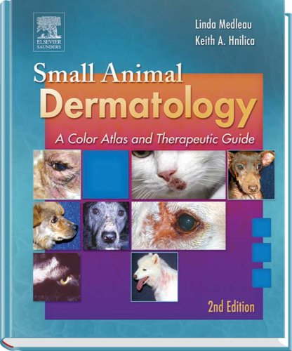 9780721628257: Small Animal Dermatology: A Color Atlas and Therapeutic Guide