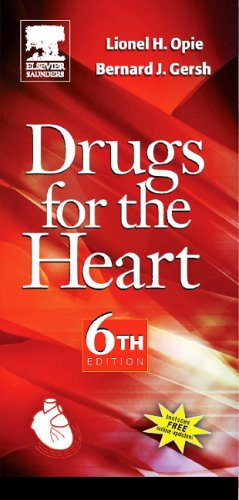9780721628394: Drugs for the Heart: Textbook with Online Updates