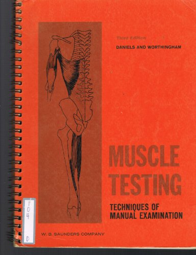 9780721628769: Muscle Testing: Techniques of Manual Examination