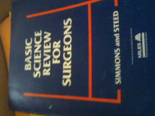 9780721629841: Basic Science Review for Surgeons, 1e