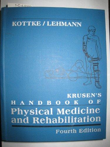 9780721629858: Krusen's Handbook of Physical Medicine and Rehabilitation