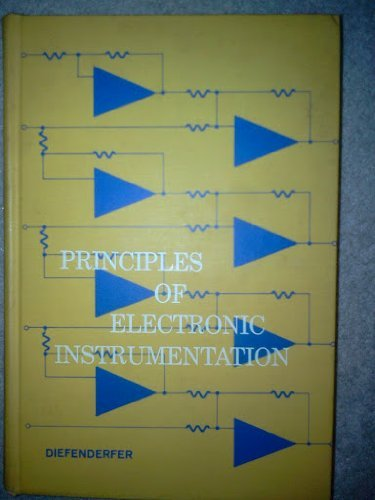 9780721630755: Principles of Electronic Instrumentation (Saunders golden series)