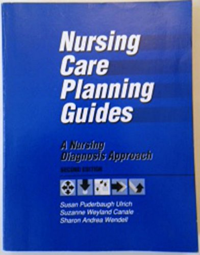 9780721630915: Nursing Care Planning Guides: A Nursing Diagnosis Approach