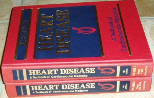 9780721630960: Heart Disease: A Textbook of Cardiovascular Medicine, 2-Volume Set