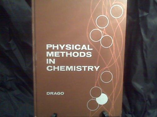 9780721631844: Physical Methods in Chemistry (Saunders golden sunburst series)