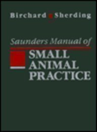 9780721632193: Saunders Manual of Small Animal Practice
